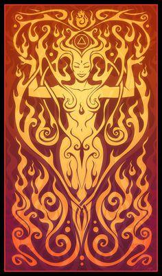 Fire Spirit.
