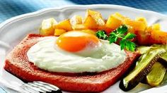 Bildergebnis für Schweizer Fleischkäse und Kartoffelsalat