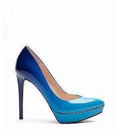 Can you resist this gradient shoes? (Jessica Simpson Venisse Heel - Swedish Blue)