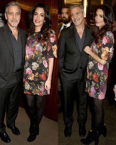 January 10, 2017 Amal and George Clooney