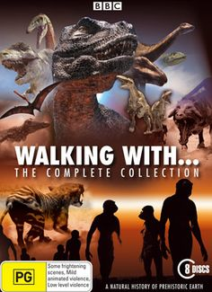 "The ""Walking with"" series. CGI creatures and real world locations sync believably and beautifully."