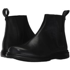 Dr. Martens Noelle Chelsea Boot (Black New Oily Illusion) Women's... (€100) ❤ liked on Polyvore featuring shoes, boots, mid-calf boots, mid calf boots, black calf length boots, black mid calf boots, calf length boots and black chelsea ankle boots