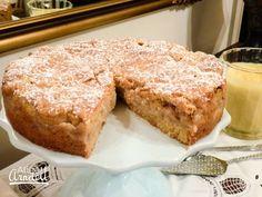 Feijoa Shortcake with Homemade Vanilla Custard