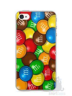 Capa Iphone 4/S M&M's - SmartCases - Acessórios para celulares e tablets :)
