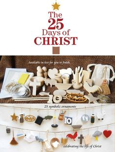 Start a great family Christmas tradition with this 25-piece ornament kit that celebrates the life of Jesus Christ.