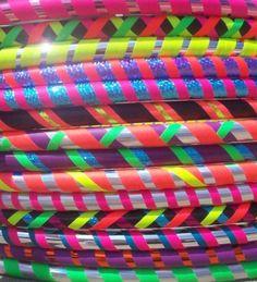 Dayglo hoops!!
