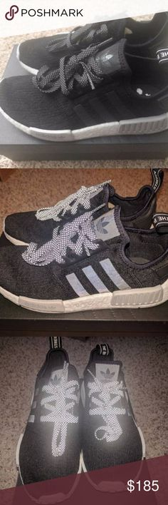 Adidas NMD Black and Grey 3M 100% Authentic comes with original purchase receipt. Happy Holidays! Free OVERNIGHT shipping. adidas Shoes Sneakers