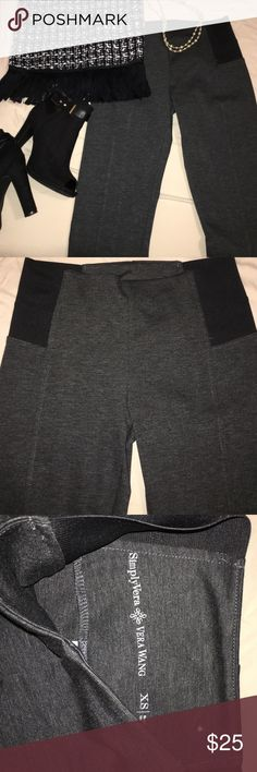 Simply Vera (Vera Wang) never worn dressy leggings High waisted Vera Wang dressy leggings. Size XS. Took tags off but never actually wore. Stunning and comfortable. Simply Vera Vera Wang Pants Leggings