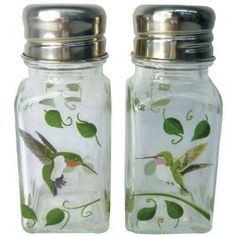 Hummingbird Salt & Pepper Shaker Set  http://www.amazon.com/dp/B0055FCDKA/ref=nosim/?tag=cherylscreations