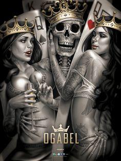 """OG Abel """"2 Of A Kind"""" Poster"""
