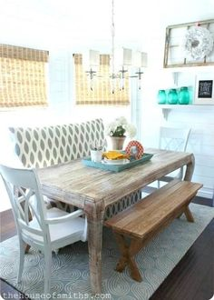 Plancolorssful Dining Room Table and Chair. 20 Plancolorssful Dining Room Table and Chair. before & after Open Plan Dining Room & Entry Interior Decorating Blog, House Design, Kitchen Decor, Home, Dining, Home Kitchens, Dining Room Table, Interior, Kitchen Seating