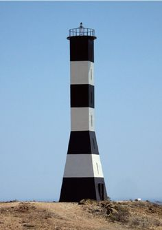 Punta Aguja lighthouse [1977 - Bayóvar, Piura, Peru; a country in western South America]