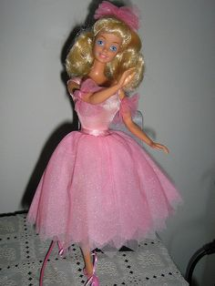 barbie ballerina 1986-named Margaret and was sold in Canada too