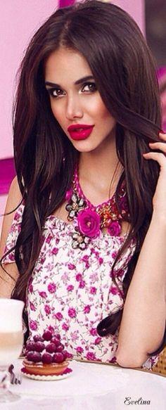 Party Fashion, Pink Fashion, Good Morning Ladies, Pink Peacock, Glamorous Makeup, Pink Garden, Rose Cottage, Her Smile, Girly Girl