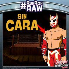 #ScoobyDoo #WWE #RuhRohRaw #SinCara