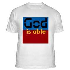 God is Able Fitted T-Shirt> God is Able> Fire of Love Christian T-shirts