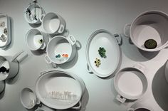 schmuck 2013 - pans as display cases to exhibit jewelry :-) (JacPot initiative)