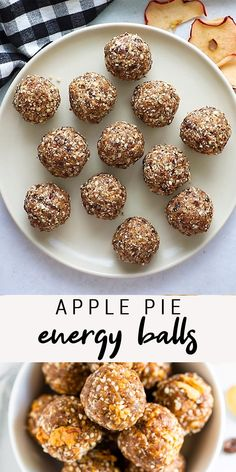 Apple Recipes, Fall Recipes, Whole Food Recipes, Vegan Recipes, Snack Recipes, Pumpkin Recipes, Healthy Recipes With Apples, Healthy Sweets, Healthy Baking