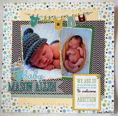 We are so excited - Echo Park - Bundle of Joy New Addition Collection - Boy Process video- http://youtu.be/Dz3naGdq7bA http://www.scrapbook.com/gallery/image/layout/5291653.html#U8wyjPitBlZvK6G5.99