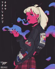 Im so in love with these illustrations ❤ Kunst Inspo, Art Inspo, Aesthetic Anime, Aesthetic Art, Anime Kunst, Anime Art, Manga Art, Art Sketches, Art Drawings