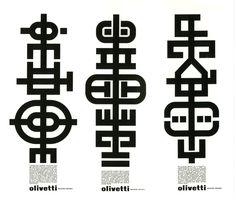 Olivetti ad campaign by Giovanni Pintori