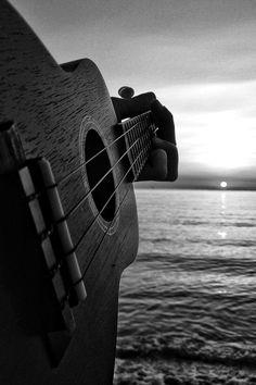 guitar men and guitar moon
