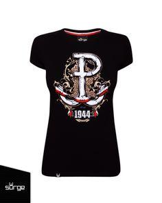 Koszulka patriotyczna 63 Dni Chwały  DLA KOBIET   Sklep z koszulkami Polski i odzieżą patriotyczną ● Przepnij Pina! Pomóż nam promować ideę nowoczesnego patriotyzmu. SurgePolonia