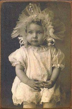Little girl from 1800s