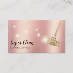Shop Maid Cleaning House Sparkling Business Card created by smmdsgn. Cleaning Maid, Cleaning Service, Janitorial Services, Cleaning Business Cards, Cleaning Companies, Sparkling Clean, Spring Cleaning, Clean House, Housekeeping