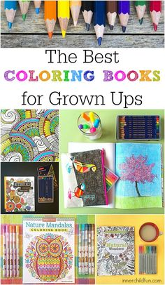 Coloring Books for Adults -- LOVE these!!