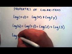 Properties of Logarithms : Logarithms, Lesson 5