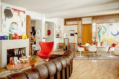 colorful home of serge bensimon / sfgirlbybay