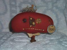 OFG Pumpkin People by Anne Crowe on Etsy #pumpkin rag doll #jack o lantern