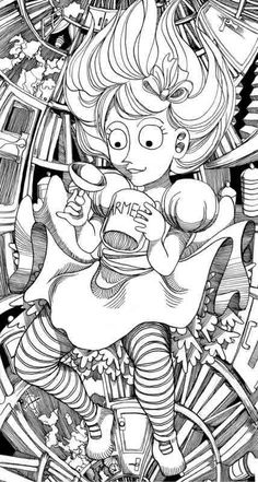 falling down the rabbit hole  | alice falling down the rabbit hole