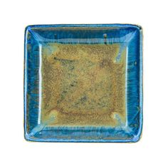 Blue Ceramic Square Plate, Candy Dish, Handmade Pottery Dinnerware Set, Housewarming and Wedding Gif Stoneware Dinnerware, Ceramic Tableware, Dinnerware Sets, Kitchenware, Pottery Gifts, Handmade Pottery, Handmade Ceramic, House Gifts, New Home Gifts