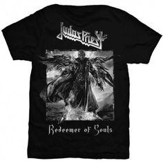 Judas Priest 'Redeemer Of Souls' T-Shirt - NEW Men's Fashion Crew Neck Short Sleeves Cotton Tops Clothing, Black New Mens Fashion, Metal Fashion, Judas Priest, Clothing Deals, High Quality T Shirts, Tee Shirts, Tees, Cool Outfits, Short Sleeves