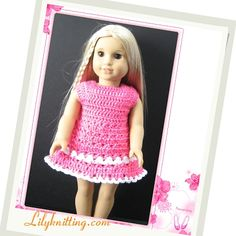 Free Dolls and Doll Clothes Crochet Patterns