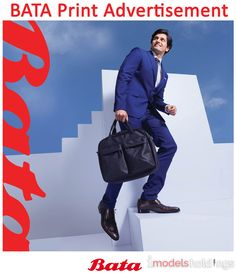Male model Zain is eye-catching in the latest BATA print advertisement.  Get stunned by this sharp gentleman.
