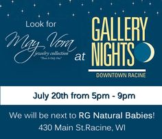 This is going to be FUN! See you there Racine!!