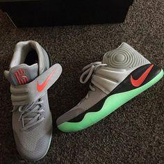 """LIKE if these are dope!! Tag @kyrieirving   @kyrieirving 2⃣s """"Glows""""  Pic Via : @k2kicks _________________ #kickfeed#kicksaddict#kicksoftheday#kicksonfire#kyrie#uncledrew#cavs#cleveland#basketball#kyrie2#k2kicks#kyrieirving#kicks#dopekicks#theq#allin217#allforone#oneforall#cavsnation#kyrie1#kyriekicks#kyriedaily#kyriegang."""