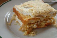 Fotorecept: Jablková žemľovka z toastového chleba