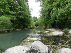 Balade pédestre bords de rivière depuis Camping De Boÿse- Jura