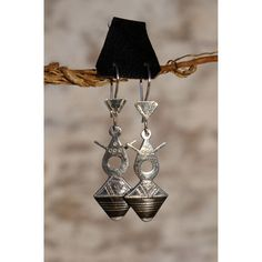 ... > Jewelry > Tuareg jewelry > Tuareg earrings featuring Agadez cross