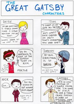 great gatsby comic