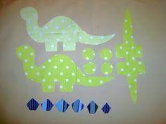 Sew a dinosaur