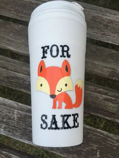 For Fox Sake Cute Silly Country Style Travel by SallyDaisyInk