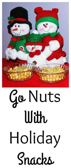 The holidays are nuts. It is time to go nuts with these nutty holiday snacks. Gold Emblem has 3 new flavors of cashews that make great holiday snacks. Sponsored