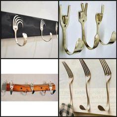 Ingenioso colgador para tu cocina
