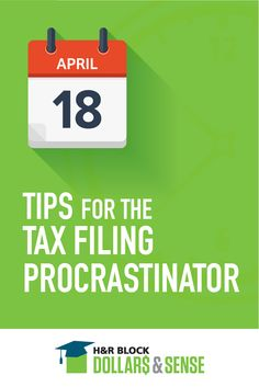 Here are some tips for filing your taxes close to the deadline. Great info for both you and your teen!