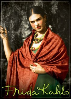 Reinette: Frida Kahlo and Diego Rivera Diego Rivera Frida Kahlo, Frida And Diego, Frida Kahlo Portraits, Frida Art, Red Shawl, Mexican Artists, My Muse, Great Artists, My Idol